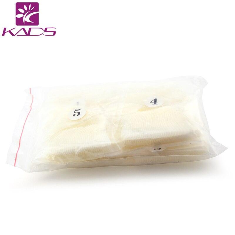 KADS 500 шт./пакет Трубчатые Французский Совет, там есть Естественный Цвет 50 шт. х 10 размеров упакованы в одном мешке