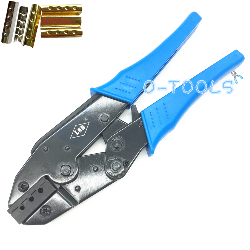 Ratchet Aglet Crimping Pliers For Attach Metal Sheath Aglets To The End Of Laces Hand Aglet Crimping Tools Crimpers