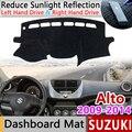 Для Suzuki Alto 2009 2010 2011 2012 2013 2014 Спорт Противоскользящий коврик  коврик на приборную панель Зонт приборной защиты автомобильные аксессуары