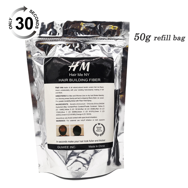 Refill-Bag Hair-Loss-Treatment Building-Fibers Best-Hair 50-Grams For Brand 1pcs Hot-Sale