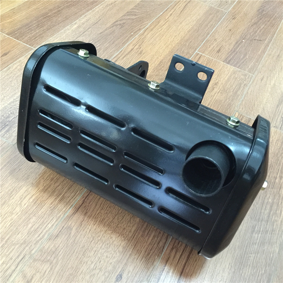 STARPAD For single cylinder air cooled diesel engine Micro tiller Generator 186F 5KW Silencer Silencer Exhaust