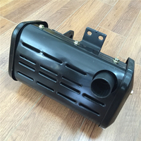 STARPAD For single cylinder air cooled diesel engine Micro tiller Generator 186F 5KW Silencer Silencer Exhaust Pipe Assembly