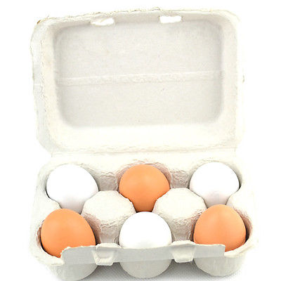 Pudcoco Newest Arrivals 6pcs Eggs Yolk Pretend Play Kitchen Food Cooking Kids Children Baby Toy Funny Gift #2
