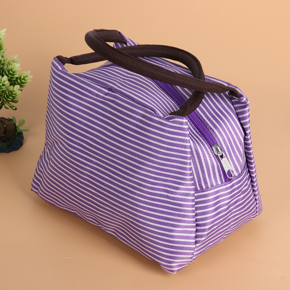 Portable Oxford Cloth Lunch Bag Thermal Food Picnic Lunch Bags Organizer for Women kids Men Cooler Lunch Box Bag Container