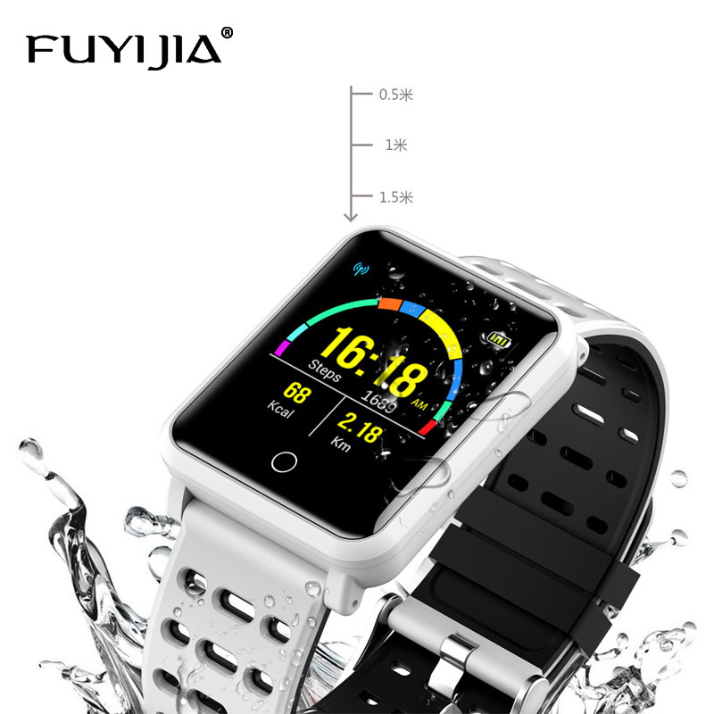 New Blood Pressure Monitoring Smart Watches Couple Waterproof Digital Watch Men Sports Watches Woman Bluetooth Relogio MasculinoNew Blood Pressure Monitoring Smart Watches Couple Waterproof Digital Watch Men Sports Watches Woman Bluetooth Relogio Masculino