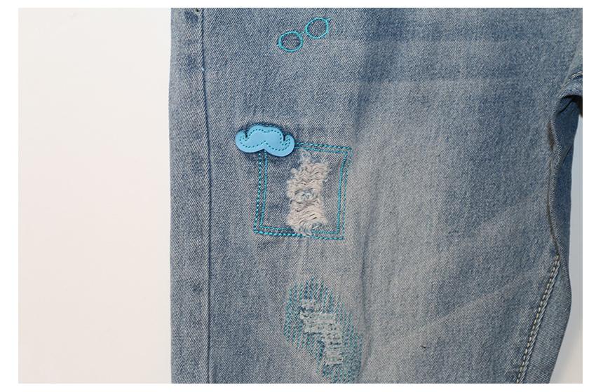 2016 gourd doll opieki macierzyński ciąży jeans spodnie dla kobiet w ciąży elastyczny pas jeans kombinezony odzież ciąży ciąża 8