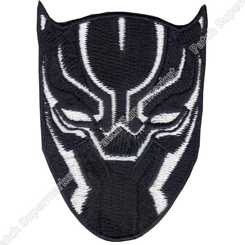 3 Black Panther Hero Full Embroidered Patch Avengers Marvel Comic TV Series Movie Avengers Infinity War