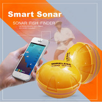 2018 New 30m Distance Wireless Sonar Fish Finder Sea Lake Fish Detect For Smartphone Fish Finder For Lake Sea Fishing Finder M20