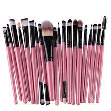 20pcs Make Up Powder Cosmetic Brushes Tools Eyeshadow Eyeliner Brush Set