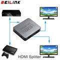 Hdcp 4 k full hd 1080 p de vídeo hdmi del interruptor del interruptor hdmi splitter 1x2 dividir 1 entrada y 2 Salidas Amplificador Dual Display Para HDTV DVD PS3 Xbox