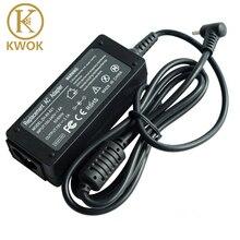Chargeur adaptateur dalimentation dordinateur portable 19V, 2,1 a, pour asus EeePC X101CH T101H, PC 1005, 1005HA, 1005PE, 1201AC, 1001HA, 1001P, 1001PX