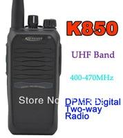 Kirisun K850 UHF 400 470MHz Digital Portable Two way Radio
