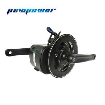 Europe or china stock 48V 500W or 750W 42T VLCD5 TSDZ2 electric bicycle mid motor with torque sensor throttle e-brake lever