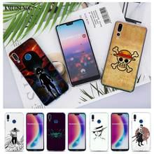 Transparent Soft Silicone Phone Case one piece logo luffy zoro for huawei P Smart Nova 3i P20 P10 P9 P8 Lite 2017 Pro Plus стоимость