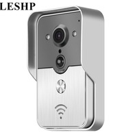 LESHP Night Visual Intercom Door Bell Wireless Doorbell Camera Waterproof Smart Door Phone Ring Home Security