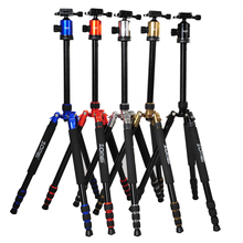 F16301 ZOMEI Z-888 Professional Portable Aluminum DSLR Camera Tripod Traveling Camcorder Monopod Ball Head & Carrying Bag