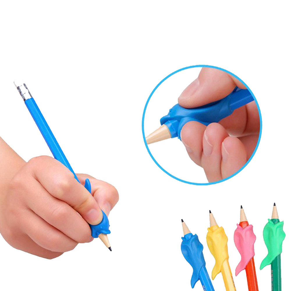 Pen Pencil Hold a Pen Device Student Writing Posture Corrective Braces to Hold a Pen Device, Dolphin Fish Gel  Z34801 люстра потолочная l 6258 6 3 бронза бежевый reccagni angelo рекани анжело