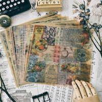 Vintage Pattern di Pergamena Carta Per Scrapbooking Felice Planner/Card Making/Journaling Progetto