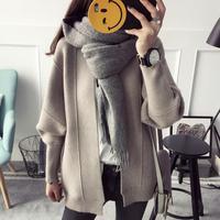 2018 Women's Winter Sweaters Slim Women Knitted Cardigans Long Sleeve Sweater For Women Long Tops
