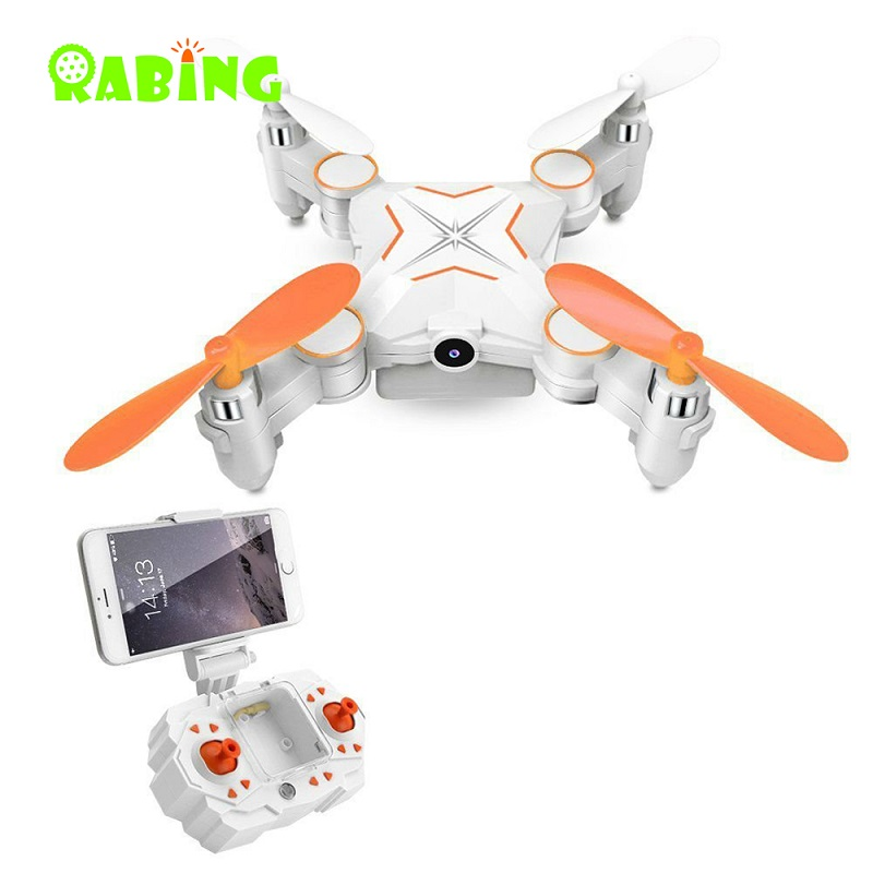Mini RC Drone 2.4GHZ Quadrocopter Controller With Remote Controller HD Camera FPV VR Collapsible Wifi USB Charger RC Helicopter
