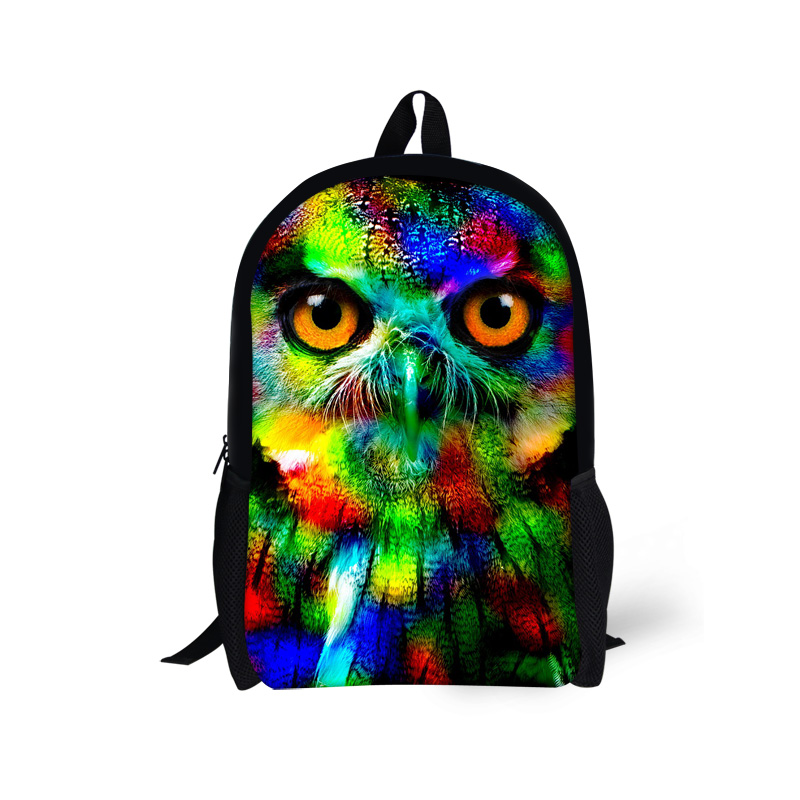 New Fashion School Bags for Teenager Boys and Girls Children's Backpack Schoolbag for Teenager,Tiger/Cat Shoulder Bags Back Pack