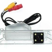 8 светодиодный CCD HD специальная камера заднего вида для Nissan March Renault Logan& Renault Sandero ночного видения светодиодный светильник