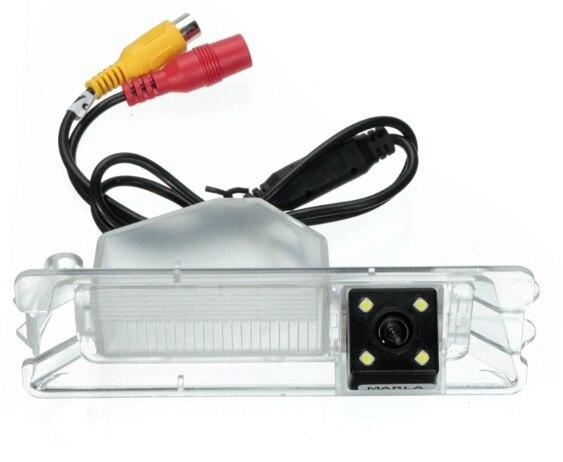 CCD HD Car Spécial De Vue Arrière Caméra de Recul de sauvegarde pour Nissan Mars Renault Logan et Sandero vision nocturne LED LUMIÈRE