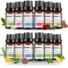 12 pcs Pure Essential Oils Set for Aromatherapy Diffusers La