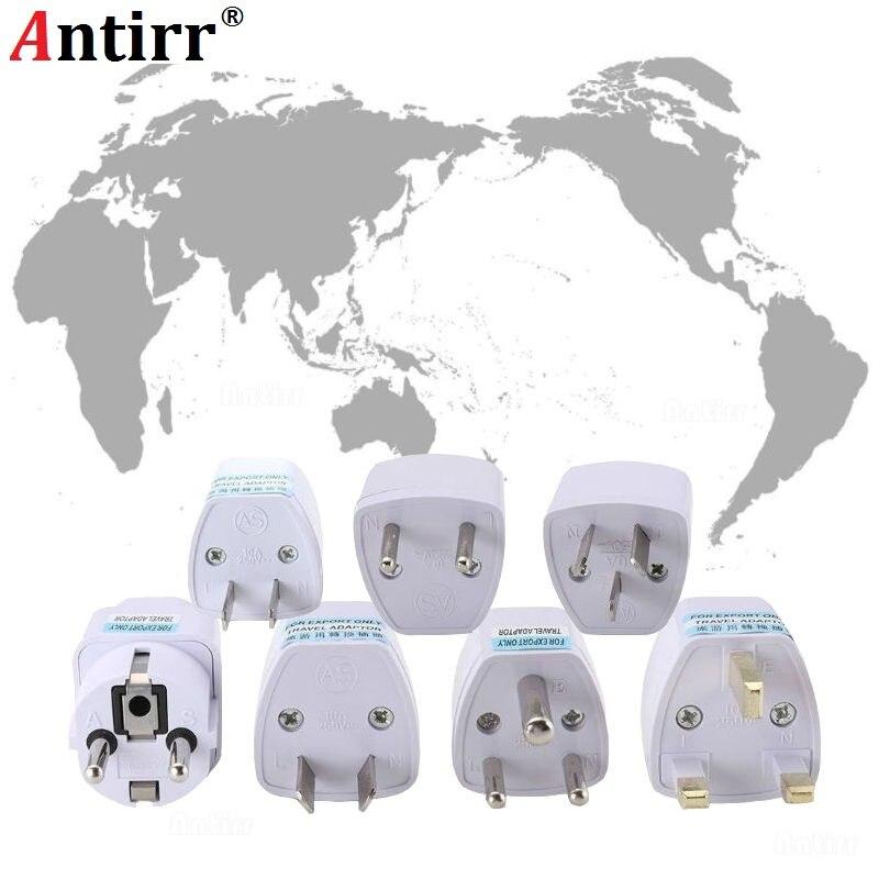 Universal International Travel Wall Charger Adapter Converter Phone UK US AU EU Germany CN USA EURO Europe AC Power Socket Plug