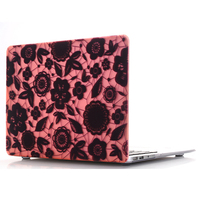Lace Printing Hollow Cover Hard Laptop Case for Apple Macbook Air Pro Retina 11 13 15 Laptop Bag for MacBook Air 13 Cover Cases