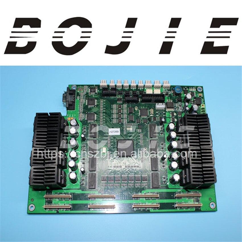 Human eco solvent printer 4h carriage board for dx5 print head original printer printhead mainfold eco solvent print head capping cover for roland rs640 740 sj1045ex sj1000 vp300 vp540 xc540
