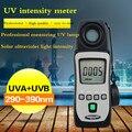 Мини УФ UVA UVB UVAB УФ-лампа измеритель уровня 290nm ~ 390nm Tenmars TM-213
