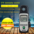 Mini UV UVA UVB UVAB Luce Ultravioletta Misuratore di Livello 290nm ~ 390nm Tenmars Tm-TM-213
