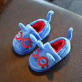 2016 Cartoon House Slippers for Kids Home Girls Winter Slippers Baby Boys Shoes Children Soft Warm Plush Slippers