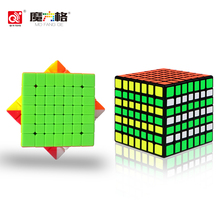 7x7x7 Professional Speed Cube Magic Cube Educational Puzzle Toys Anti-stress For Children Learning Cubo Magico Kid Toys Adults 5mm 216pcs buliding educational cube blocks anxiety stress toys gift new year magnet with metal box disc magnet