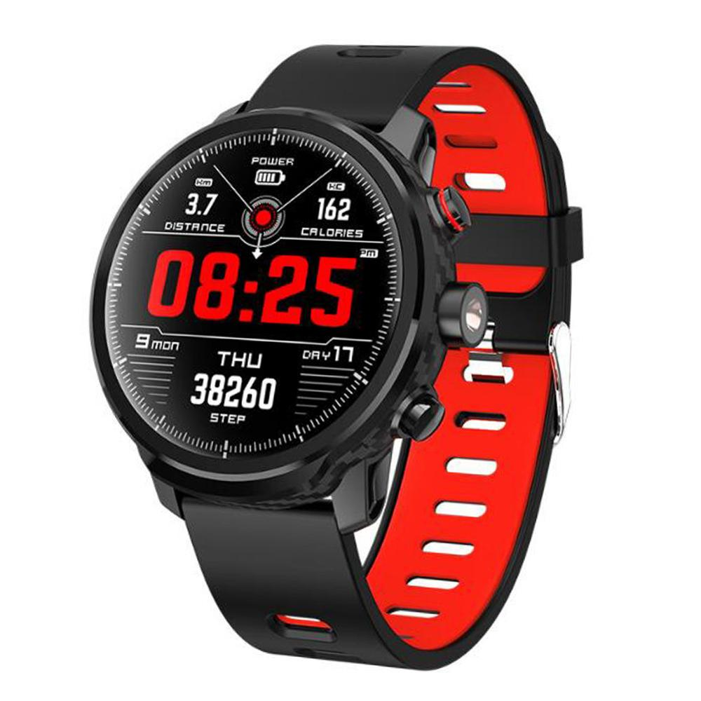 L5 Smart Watch IP68 Waterproof 1.3 Inch Screen Heart Rate Blood Pressure Blood Oxygen Monitor Fitness Tracker Smart Wristband
