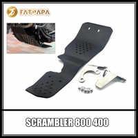 Motorcycle parts engine under the protective cover FOR DUCATI SCRAMBLER 800 400 SCRAMBLER800 SCRAMBLER400