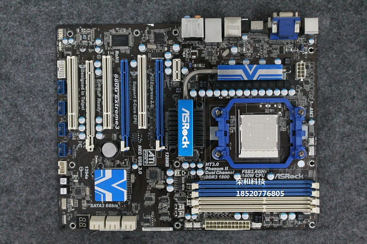 ASRock 880G extreme3 USB3.0 SATA3.0 DDR3