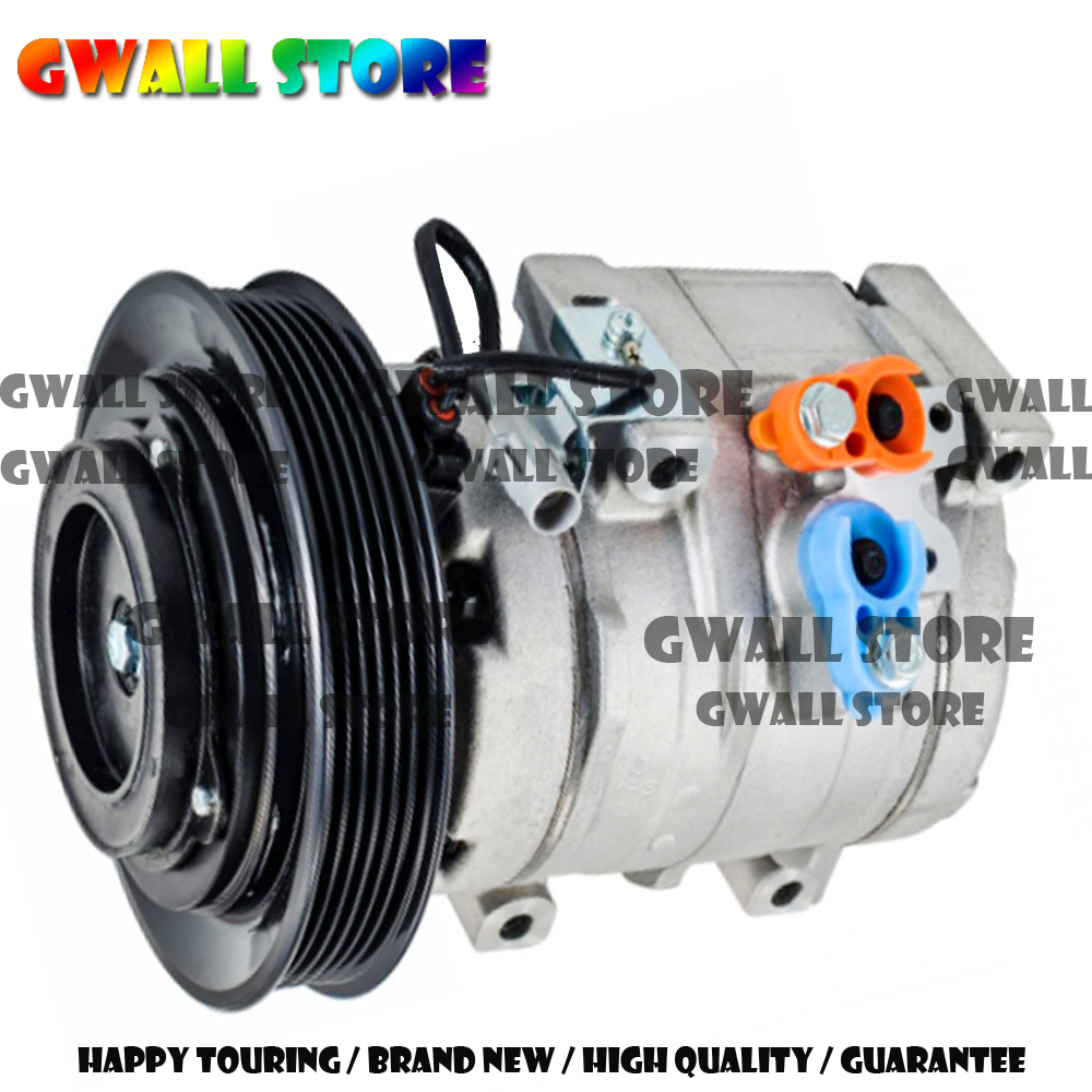 10S15L A C Compressor For Toyota Corolla 1 8L Matrix 1 8L 2003 2008 AC Compressor 8832002120 88310 02200 883200212084 in Air conditioning Installation from Automobiles Motorcycles