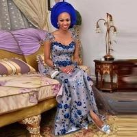 Nigerian Dress Evening 2018 vestido de festa longo Evening Dresses Applique Crystal robe de soiree Elegant Evening Gowns Silver