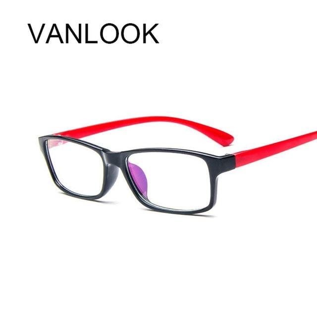 9f3830fc449b5 Antistress Óculos Limpar Óculos Frames Com Lentes Transparentes lunette de  Vue de Designer de Moda Para