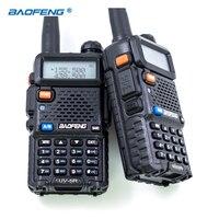 2 PCS UV5R Baofeng HAM CB Radio Walkie Talkie Dual Band UV 5R Portable Transceiver VHF UHF FM UV 5R Radios 128CH Walky Talky