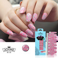 High Quality Glitter Polish Strips Colorful Nail Sticker 16 PCS Salon Style Nail Art