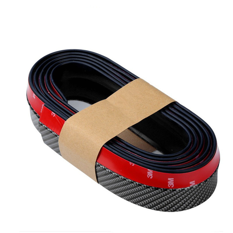 2.5M Car Front Rear Bumper Guard Protector Side Door Edge Strip Trim Moulding Strap For Honda/Toyota/Hyundai/VW/LADA//Kia/Mazda