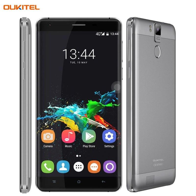 bilder für Original OUKITEL K6000 Pro Smartphone 6000 mAh 5,5 zoll Android 6.0 MTK6753 Octa Core 1,3 GHZ RAM 3 GB + ROM 32 GB LTE Netzwerk 4G OTG