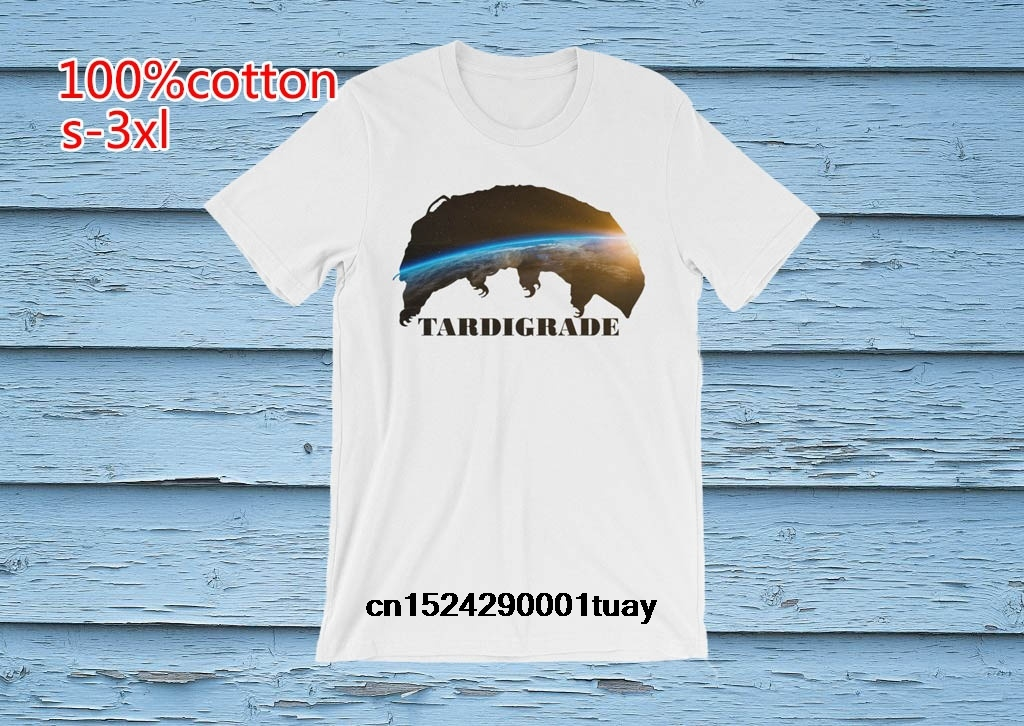 95402635fea Funny Men t shirt white t shirt tshirts Black tee Tardigrade Water Bear  Planet Inception short sleeve t shirt-in T-Shirts from Men s Clothing on .