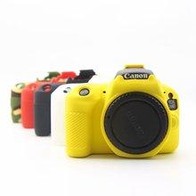 Сумка для камеры силиконовый резиновый чехол для Canon 600D 650D 700D 70D 7D2 6D2 200D для nikon D750 D7500 DSLR камеры