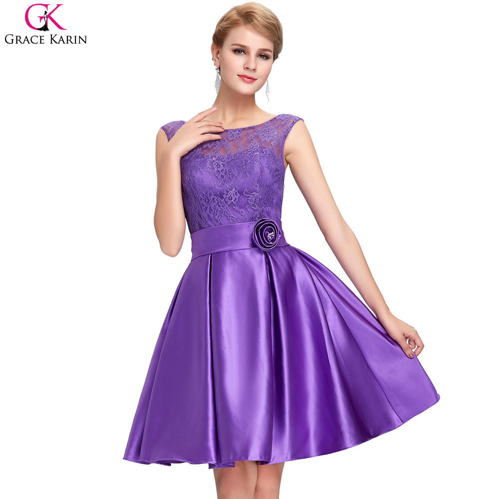 Grace karin mutter der braut kleider blau satin spitze lila formale ...