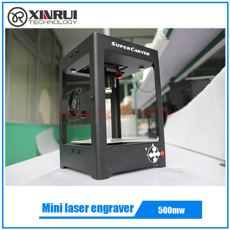 500mw super carver laser engraving machine mini laser engraver mini cnc machine best gift toys