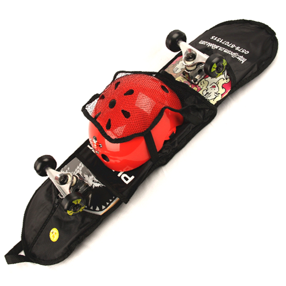 22 Inch Skateboard Storage Bag For Skateboard Penny Board Street DIY Printing Retro Drift Kids Single Rocker Customized X Game